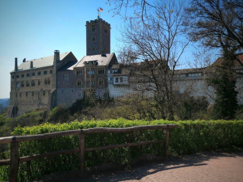Castillo de Wartburg - Alemania 2019 fotos de archivo