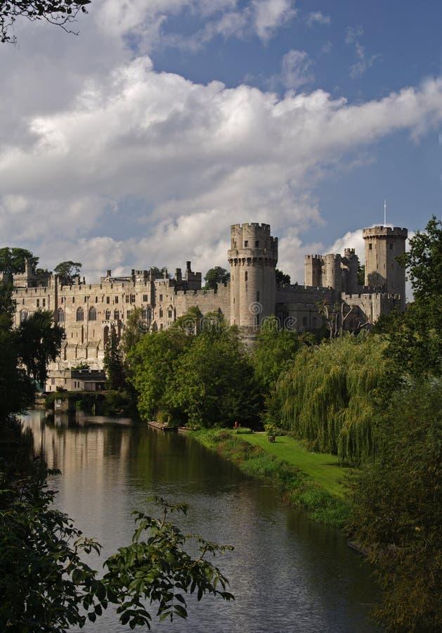 Download Castillo de Warwick imagen de archivo. Imagen de batería - 1285597