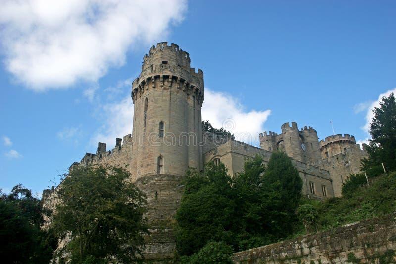 Castillo de Warwick foto de archivo libre de regalías