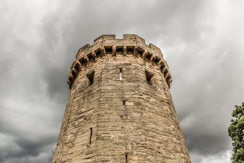 Castillo de Warwick imágenes de archivo libres de regalías