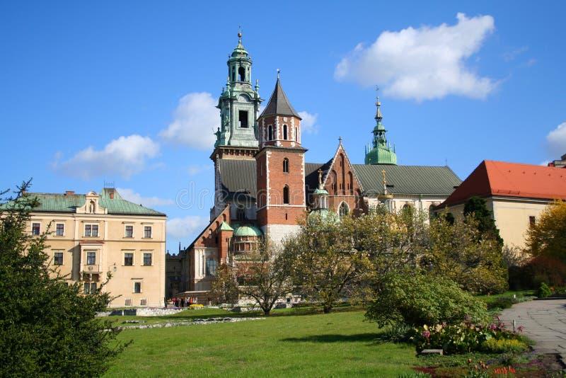 Castillo de Wawel. Kraków. Polonia. foto de archivo libre de regalías