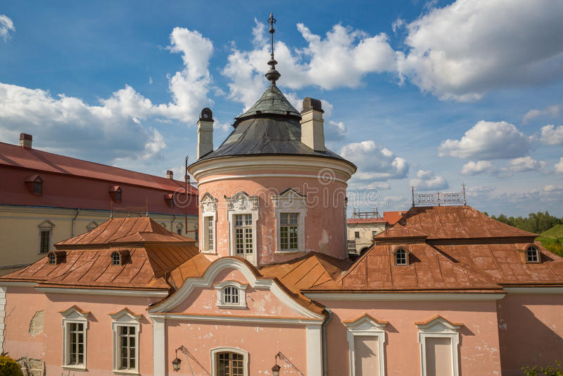 Castillo de Zolochiv foto de archivo
