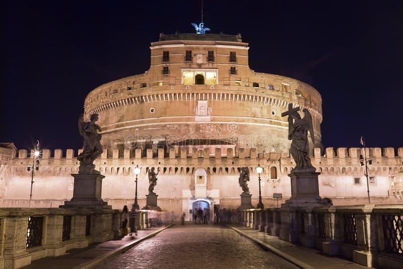 Castillo del ángel del santo foto de archivo libre de regalías