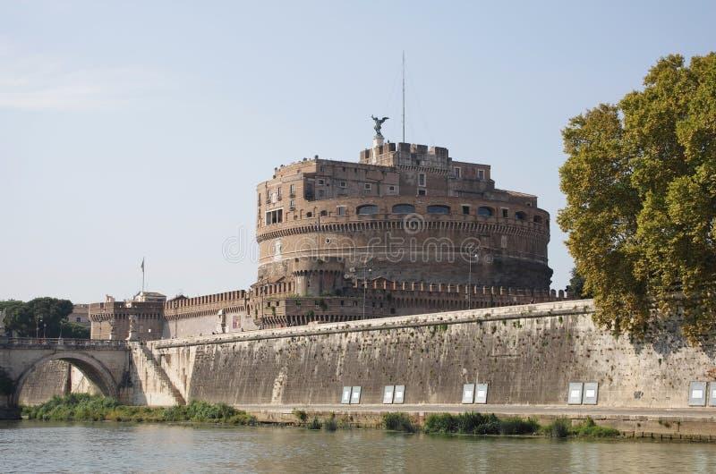 Castillo del ángel del santo imagen de archivo libre de regalías