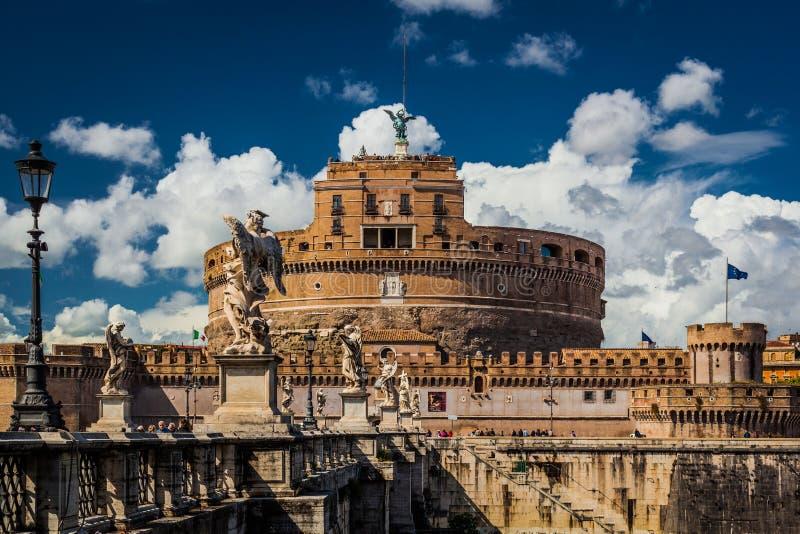 Castillo del ángel del santo imágenes de archivo libres de regalías