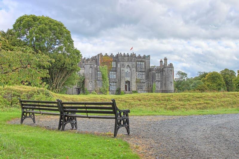 Castillo del birr en Irlanda. imagen de archivo
