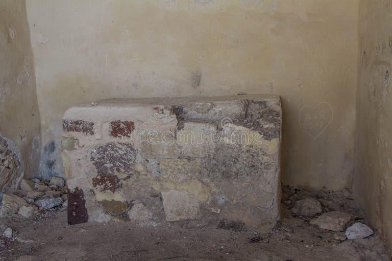 Castillo del doria, chiaramonti, castel sardo, Sassari foto de archivo