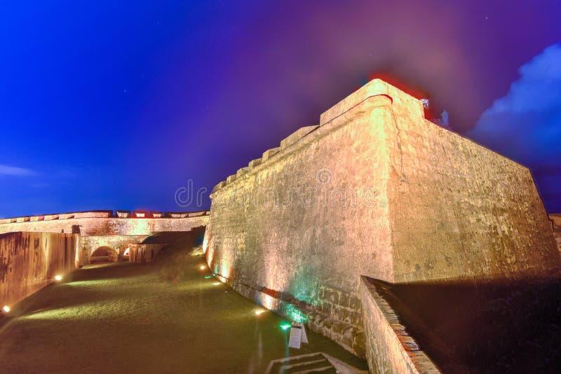 Castillo del EL Morro, San Juan, Puerto Rico fotografía de archivo libre de regalías