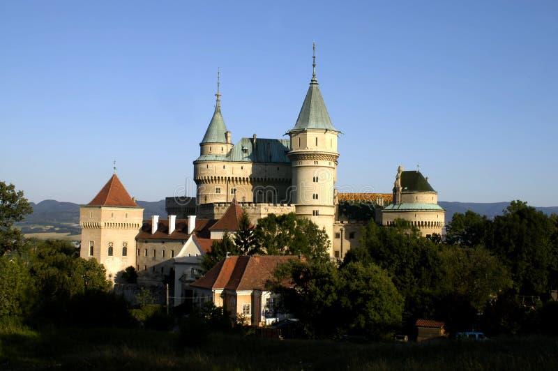 Castillo del Fairy-tale foto de archivo libre de regalías