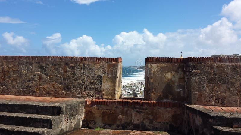 castillo Del Felipe morro San obrazy royalty free