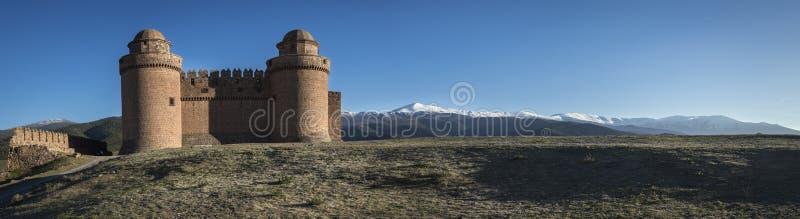 Castillo del La Calahorra imagenes de archivo