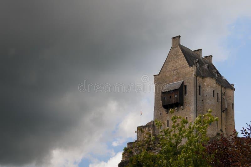 Castillo del larochette fotografía de archivo libre de regalías