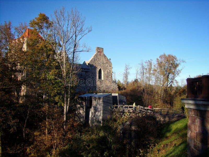 Castillo del Livonia fotografía de archivo