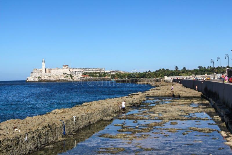 Castillo del Morro, Havana Cuba foto de stock royalty free