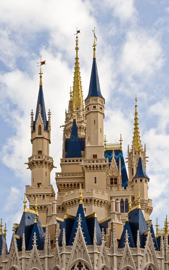 Castillo Del Mundo De Disney Foto editorial