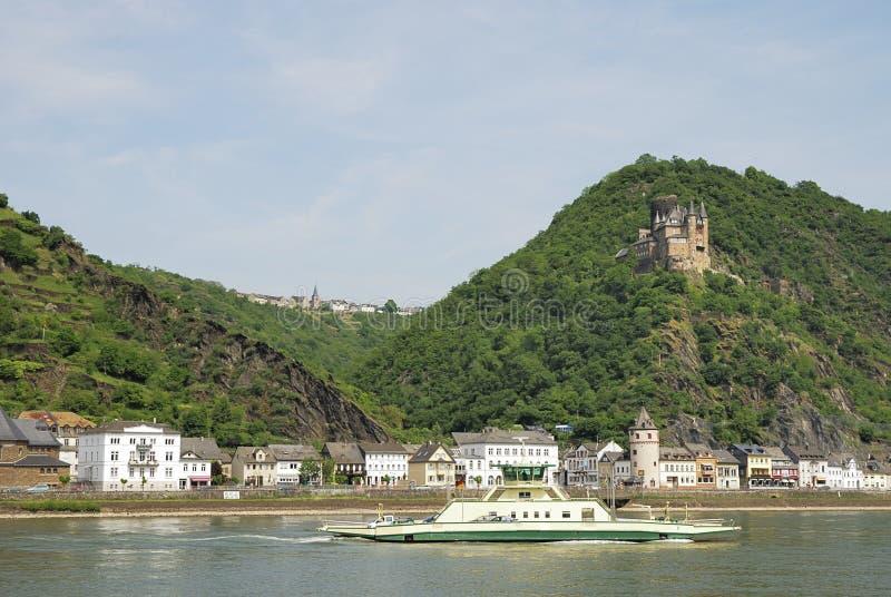 Castillo del Rin foto de archivo libre de regalías