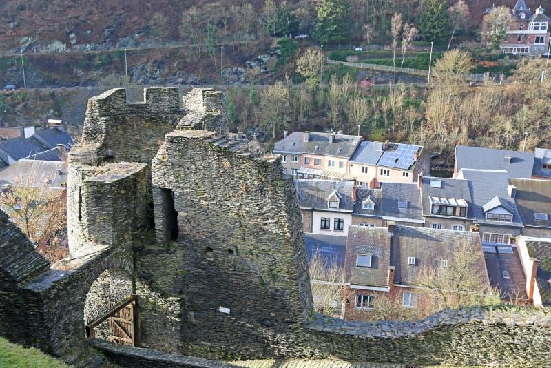 Castillo del Roche-en-Ardenne del La, Bélgica fotografía de archivo libre de regalías