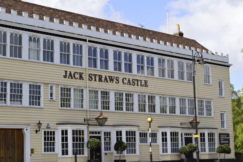 Castillo del ` s de Jack Straw en Hampstead Londres Reino Unido foto de archivo