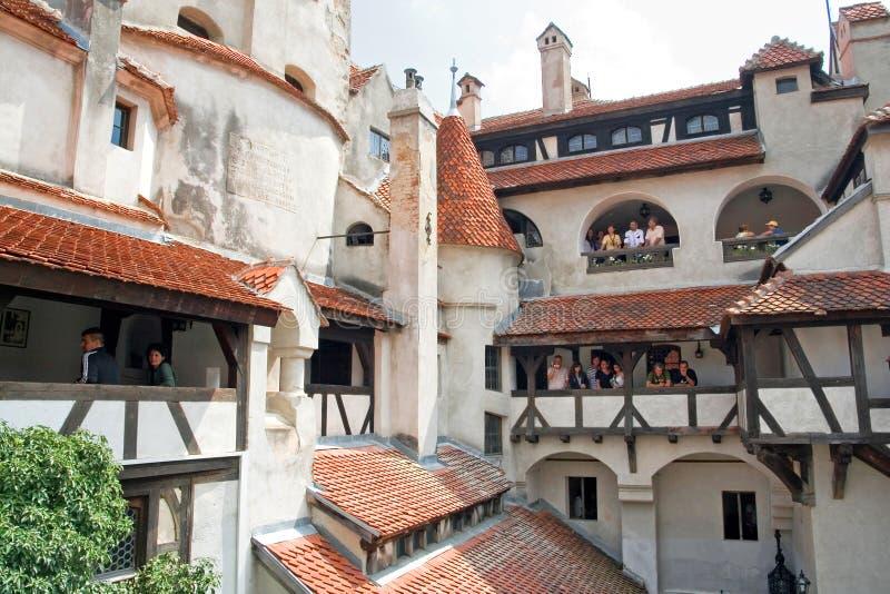 Castillo del salvado; Brasov, Rumania imagen de archivo libre de regalías