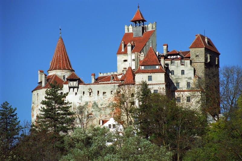 Castillo del salvado - castillo de Dracula imágenes de archivo libres de regalías