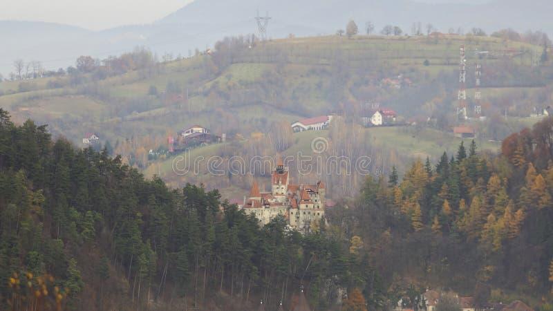 Castillo del salvado, Transilvania, Rumania imágenes de archivo libres de regalías