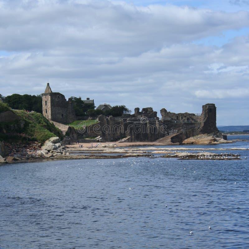 Castillo del St Andrews imagenes de archivo