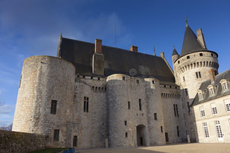 Castillo del Sully-Sur-Loira imagen de archivo libre de regalías