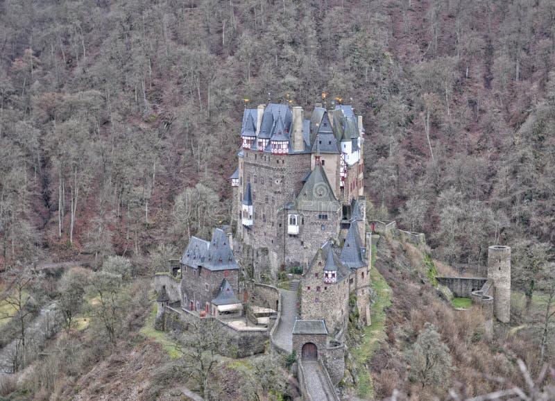 Castillo Eltz, Alemania fotografía de archivo libre de regalías