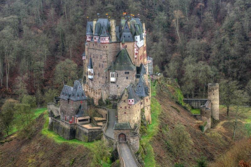 Castillo Eltz, Alemania foto de archivo libre de regalías