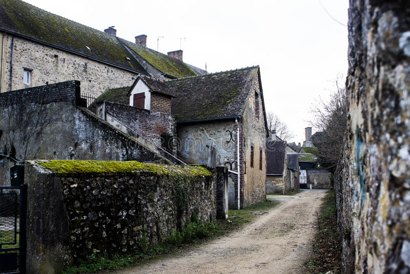 Castillo en Bouloire fotos de archivo libres de regalías
