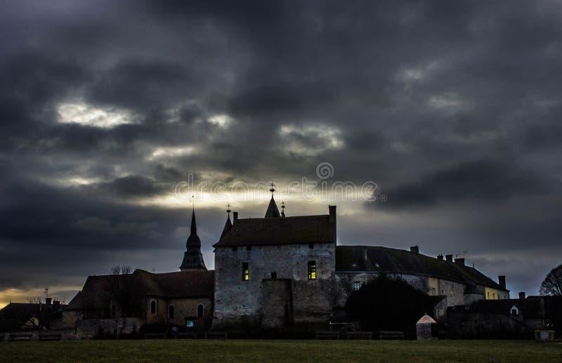Castillo en Bouloire foto de archivo libre de regalías