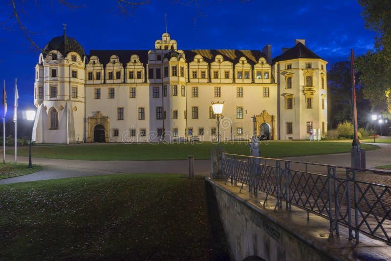 Castillo en Celle, Baja Sajonia, Alemania imagen de archivo