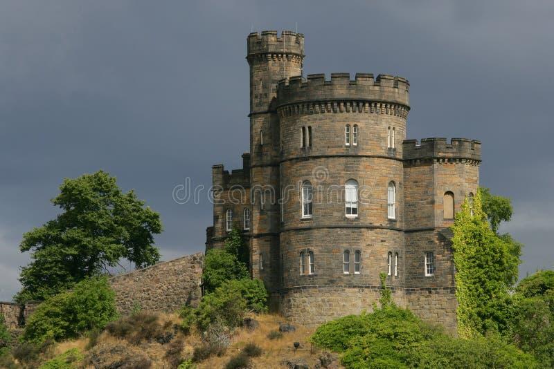 Castillo en Escocia fotografía de archivo libre de regalías