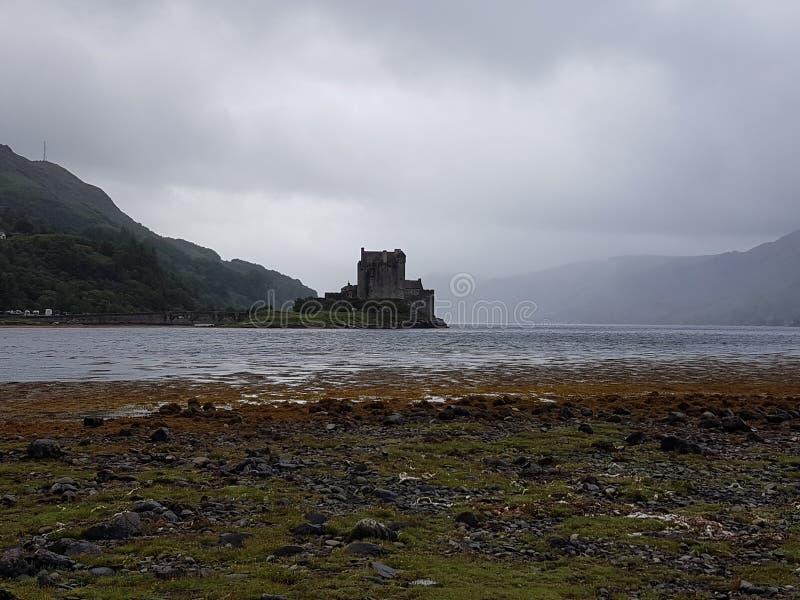 Castillo en Escocia foto de archivo libre de regalías