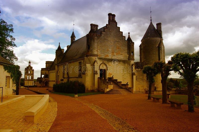 Castillo en Francia fotos de archivo libres de regalías