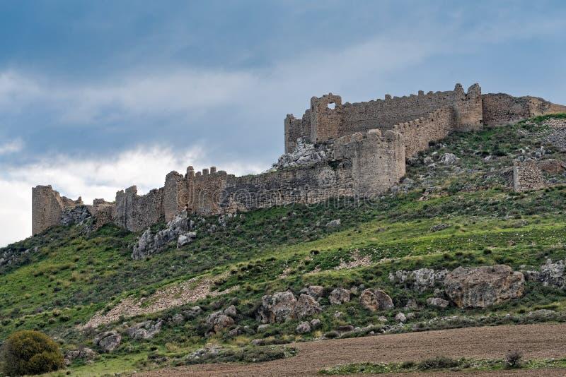 Castillo en Grecia fotografía de archivo