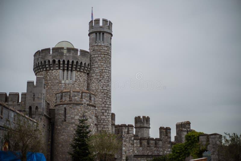 Castillo en Irlanda foto de archivo libre de regalías