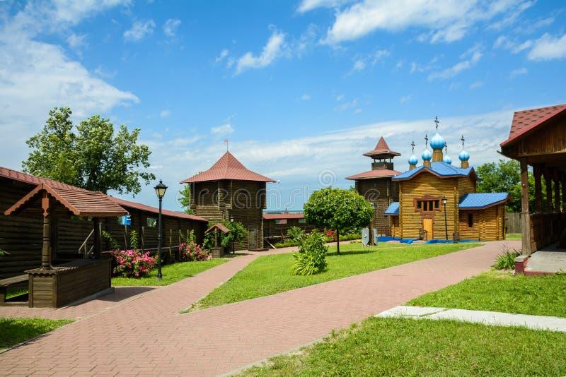 Castillo en la ciudad de Mozyr belarus fotos de archivo libres de regalías