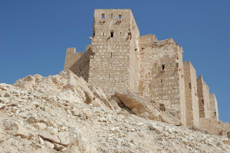 Castillo en Palmyra fotos de archivo libres de regalías