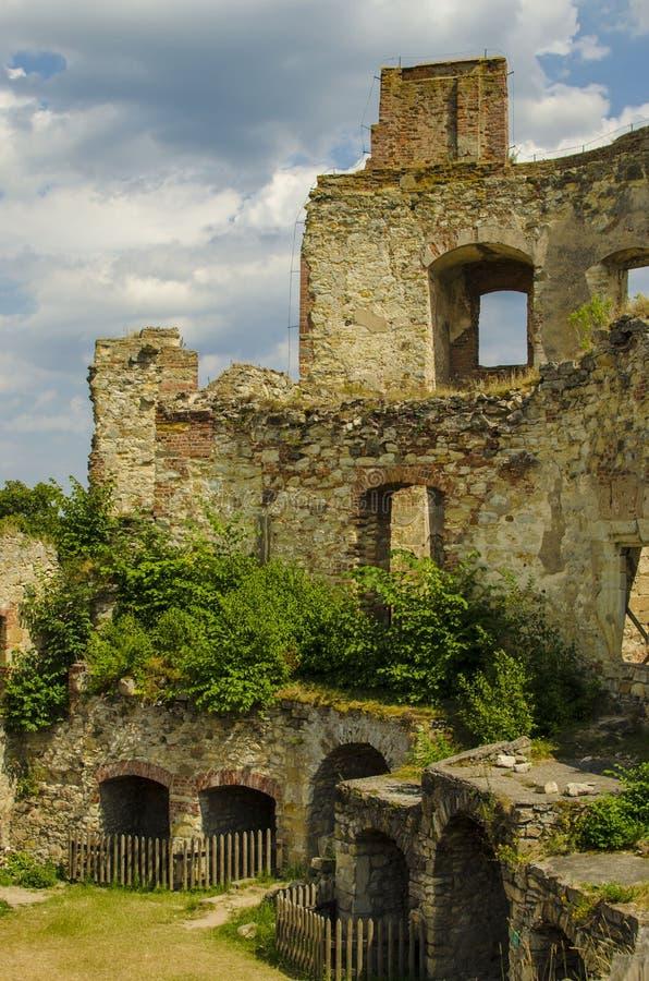 Castillo en República Checa foto de archivo