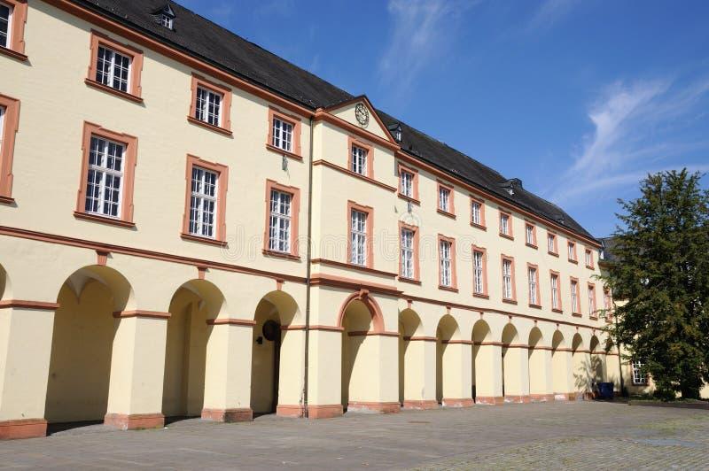 Castillo en Siegen, Alemania fotografía de archivo