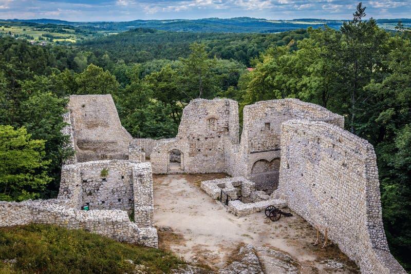 Castillo en Smolen imagen de archivo libre de regalías