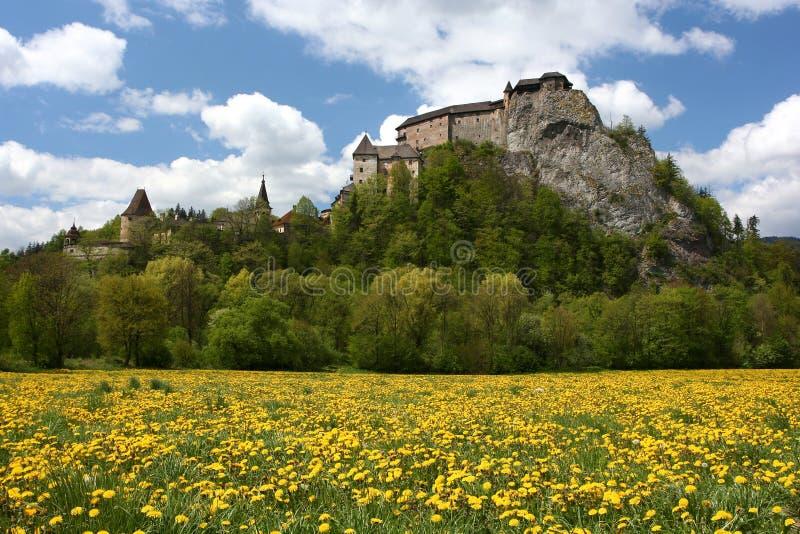 Castillo Eslovaquia de Orava fotos de archivo