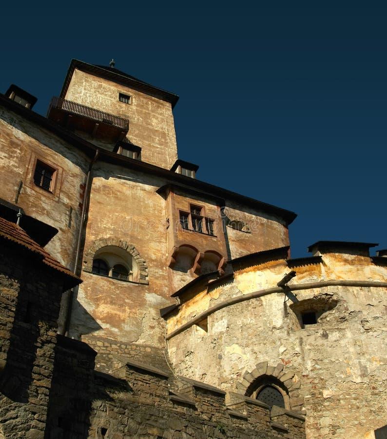 Castillo Eslovaquia de Oravia fotografía de archivo
