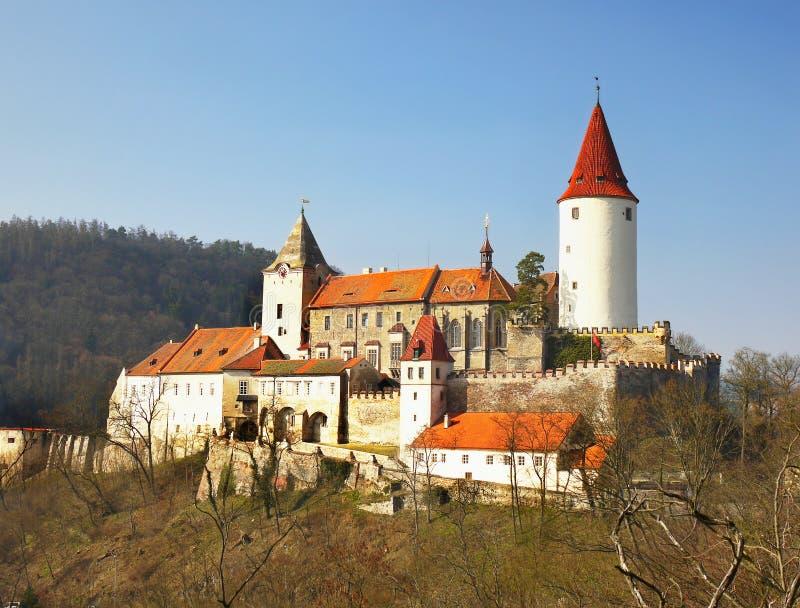 Castillo fortificado imagenes de archivo