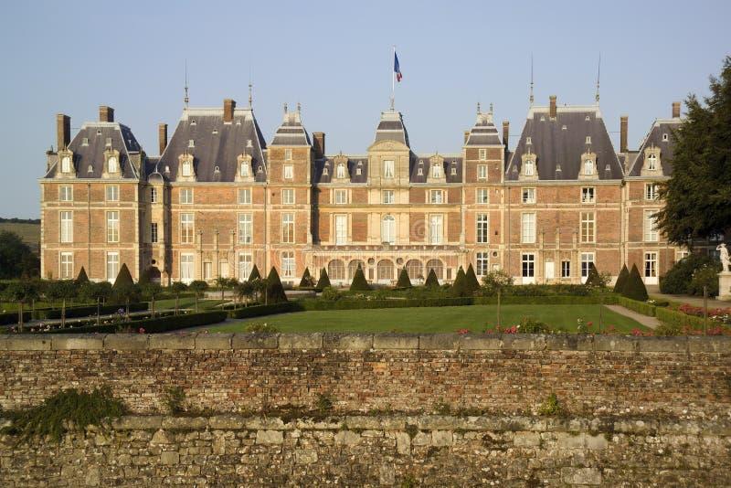 Castillo francés imagen de archivo libre de regalías