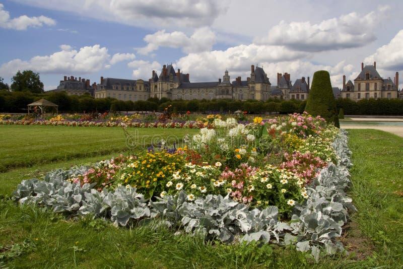 Castillo francés de Fontainebleau fotografía de archivo libre de regalías