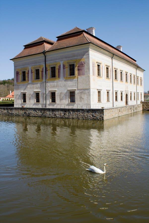 Castillo francés de Kratochvile imágenes de archivo libres de regalías