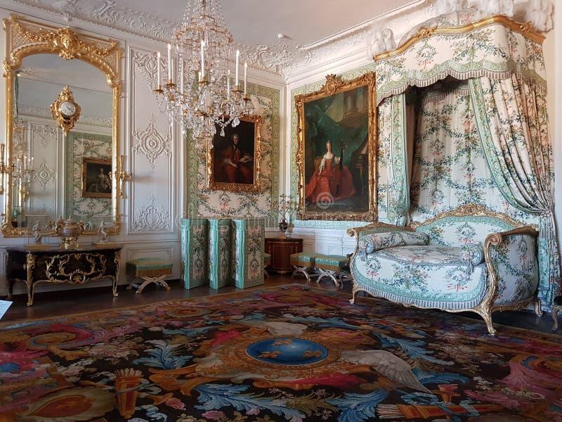 Castillo francés de Versalles fotos de archivo