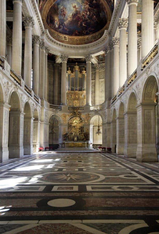 Castillo francés de Versalles fotos de archivo libres de regalías